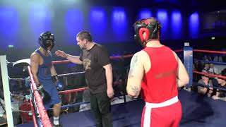 Box Clever Events - Keegan Roberts (red) vs. Jordan Little (blue) - March 9th, 2019