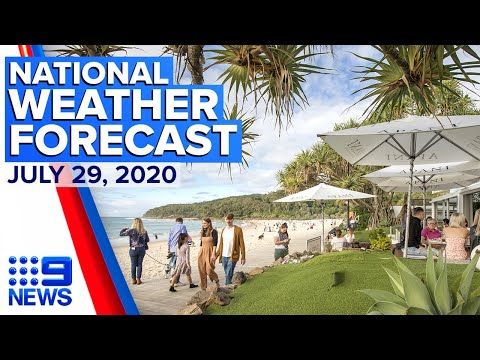 Weekend Weather Forecast From Sunny Noosa | Five-Day Weather Forecast | Today Show Australia