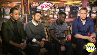 Think Like A Man 2 Cast Hang-over Remedies and Relationships Issues