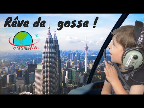 Vlog Malaisie Kuala Lumpur : Vol En Hélicoptère Aux Tours Petronas ! Guide Gratuit 3 Jours à KL