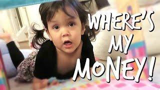 WHERE'S MY MONEY?! - February 25, 2017 -  ItsJudysLife Vlogs