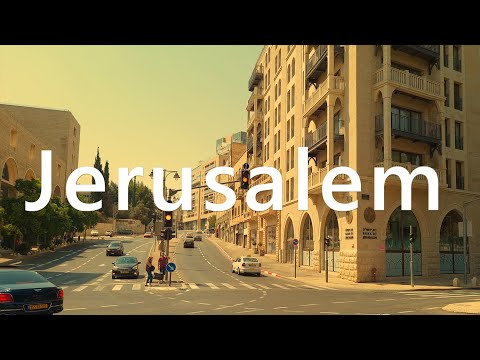 JERUSALEM TODAY - Virtual Video Walk