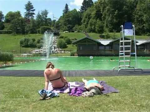 Schilf Und Seerosen Statt Chlor: Öko-Freibad Am Montblanc