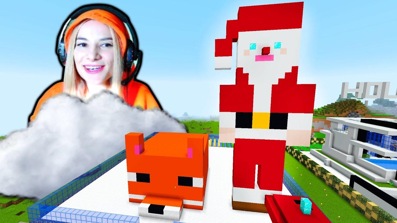 Il construim pe MOS CRACIUN in Minecraft! Lumea Animalelor
