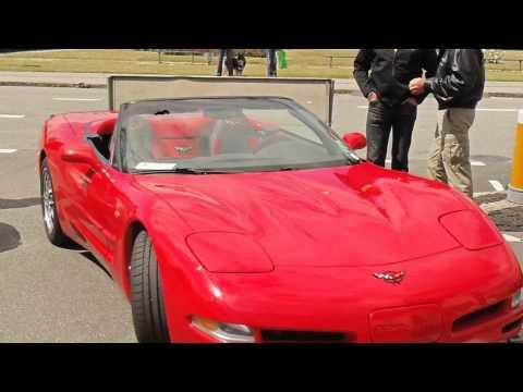 Corvette-træf i Ebeltoft den 25. juni  2011