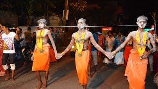 Shocking Indian  Festival.  Thaipusam Body Piercing .