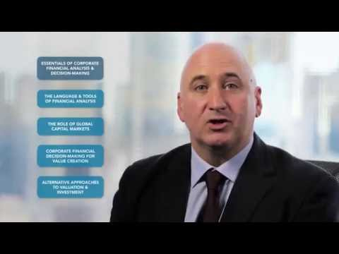 Corporate Financial Decision-Making for Value Creation MOOC - Course 3 of 5