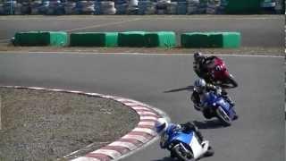 2012年10月21日 mini-motoGP CUP Bクラス決勝