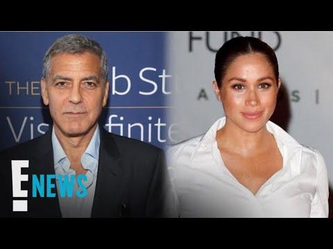 George Clooney Defends Meghan Markle Against Media Criticism | E! News