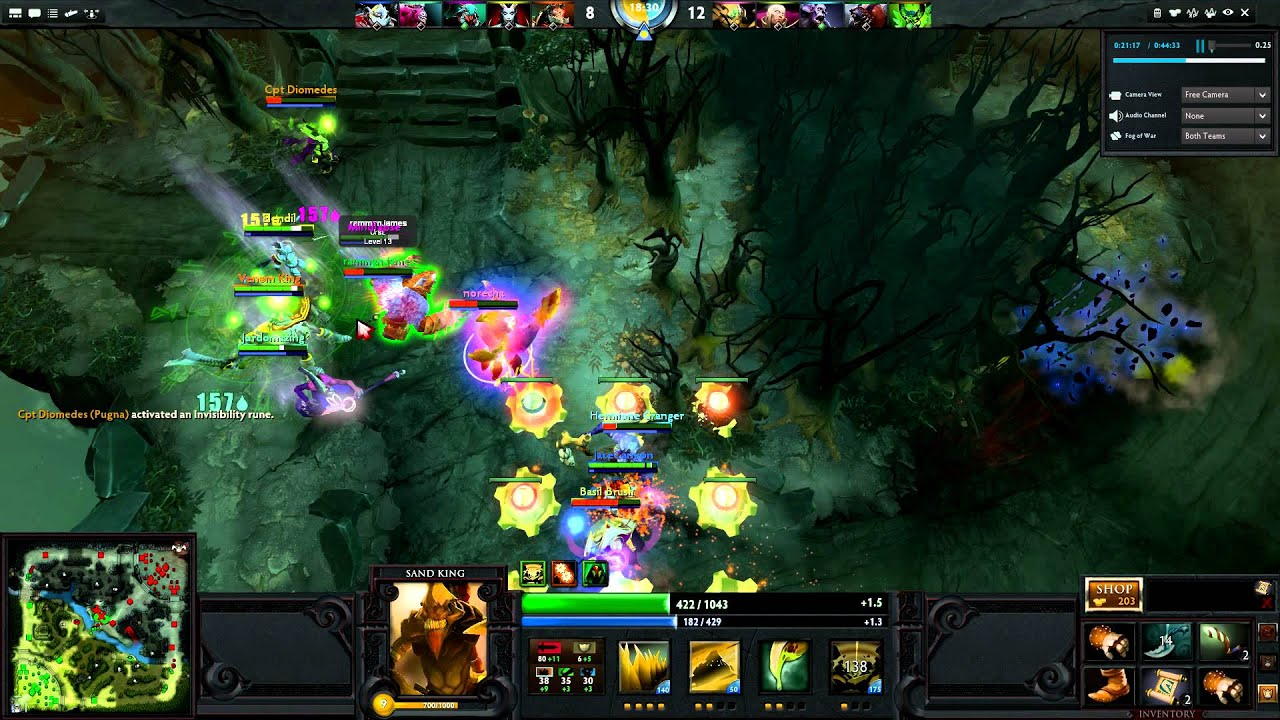 how to get rampage dota 2