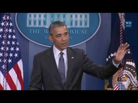 President Obama Responds To Panama Papers Leak