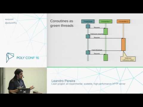PolyConf 16: Lwan - an experimental, scalable, high-performance http server / Leandro Pereira
