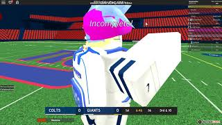 Roblox Ro football [DFL] TheDimer's Game Gameplay With Pro's I'm back for a little