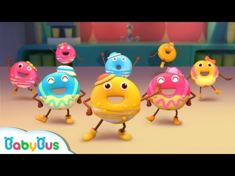 Colorful Donuts Love Dancing | Kids Role Play | Learn Numbers for Kids | BabyBus