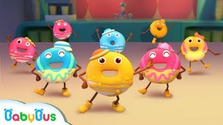 Colorful Donuts Love Dancing   Kids Role Play   Learn Numbers for Kids   BabyBus
