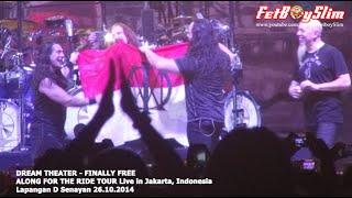 DREAM THEATER Kibarkan MERAH PUTIH FINALLY FREE live in Jakarta 2014