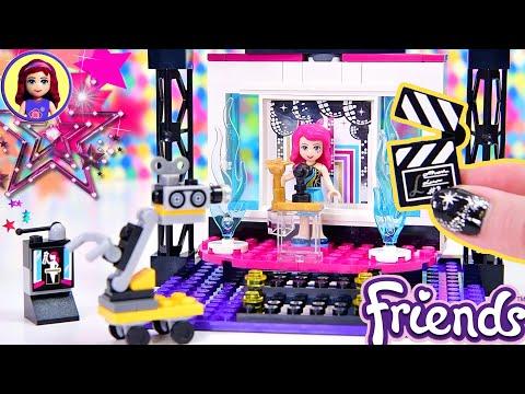 Blast From The Past 💖 Lego Friends Livi's Pop Star TV Studio Build