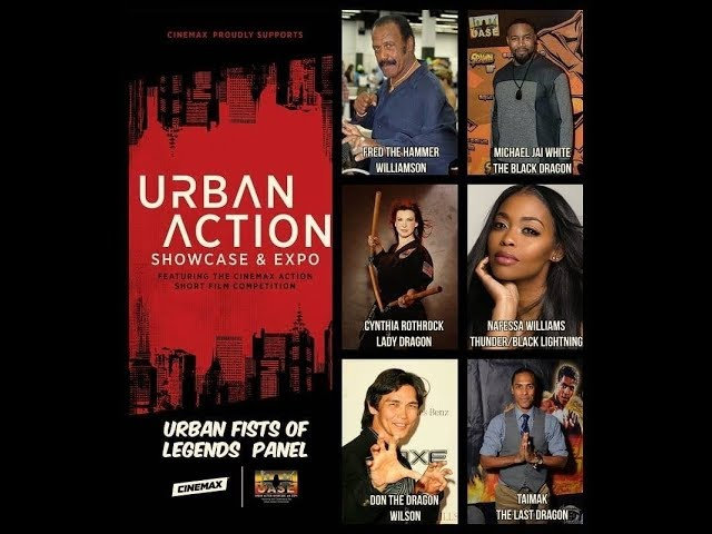 Urban Action Showcase Expo 2019 Alex Lee production