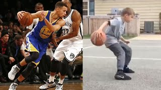 This 11-Year-Old Has Stephen Curry's Moves Down
