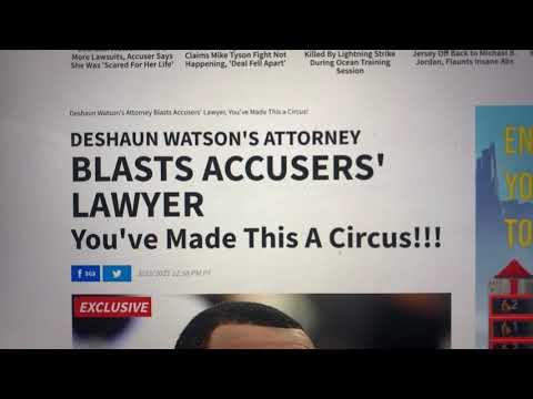 Deshaun Watson Lawyer Blasts Tony Buzbee Lawsuit Accuser As Liar, Calls All 14 Lawsuits Bogus