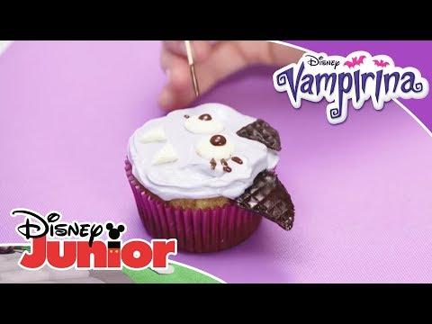 Vampirina Rezept: Vampirina Cupcakes | Disney Junior