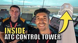 INSIDE an Air Traffic Control Tower
