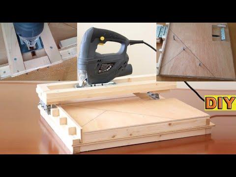 DIY: Jigsaw Guide Cutting Station Auto Lock