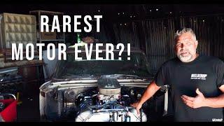 SUPER RARE ENGINE Hidden In A Barn!