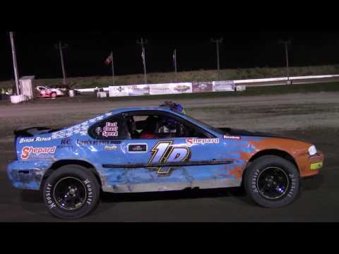 Genesee Speedway Mini Stock Feature 7-8-17