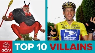 Top 10 Villains Of Le Tour De France