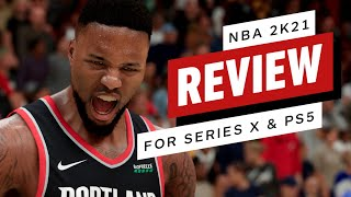 NBA 2k21 for Xbox Series X and PlayStation 5 Review (Video Game Video Review)
