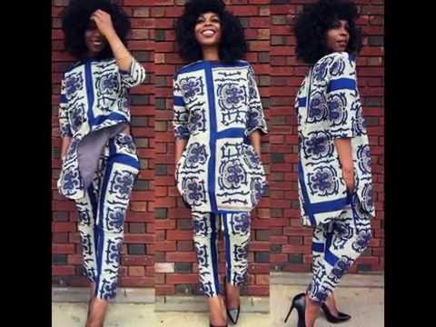 Simple Way To Rock Ankara Top and Trouser Styles