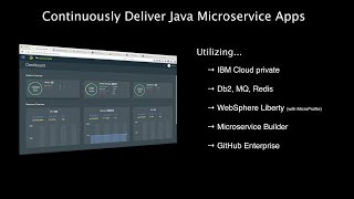 IBM Cloud private: Continuously Deliver Java Apps with IBM Cloud private and Middleware Services