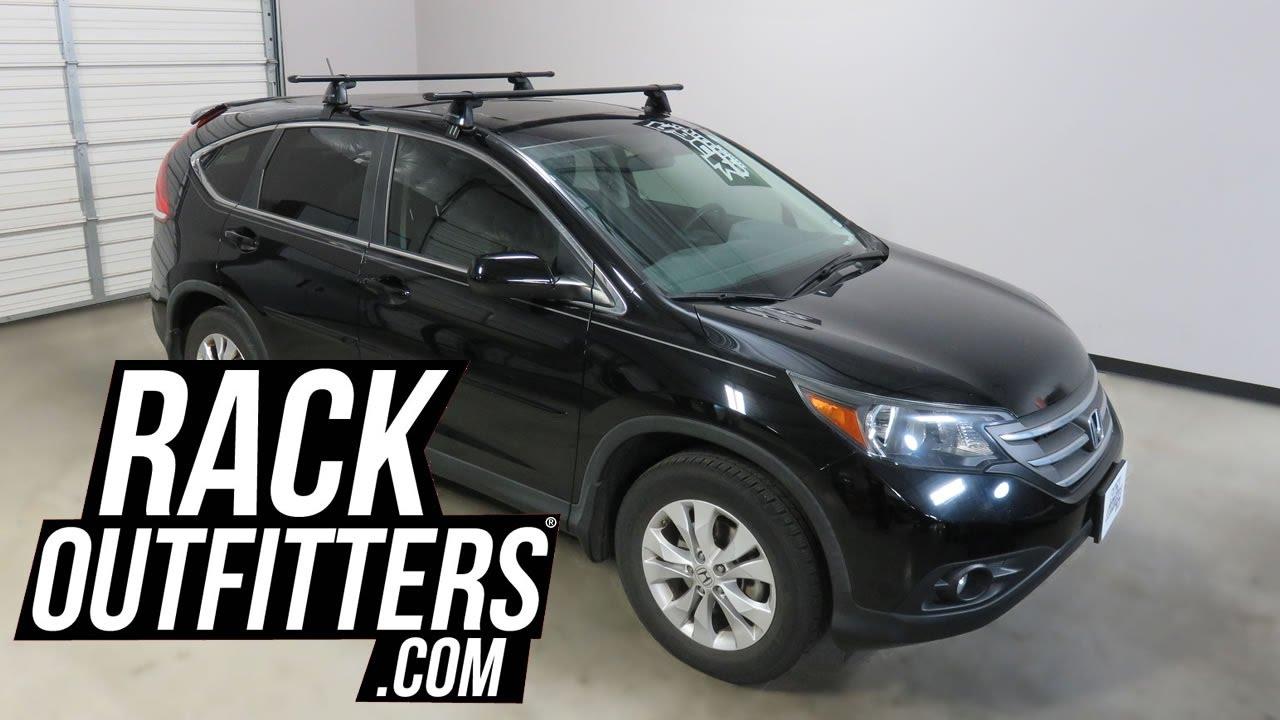 Honda Crv With Yakima Baseline Corebar Roof Rack Crossbars