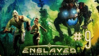 #09 Lets Play Enslaved Odyssey To The West - Es herrscht Krieg im Dorf