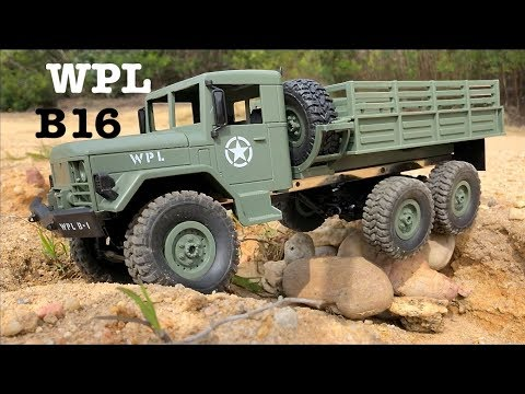 WPL B16 first ride and load test
