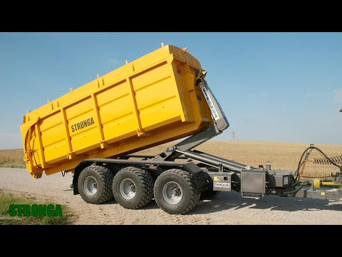 Stronga HookLoada HL260DT XL - Containerised grain transport