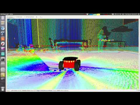 3D LiDAR Scan of the Intelligent Robotics Lab