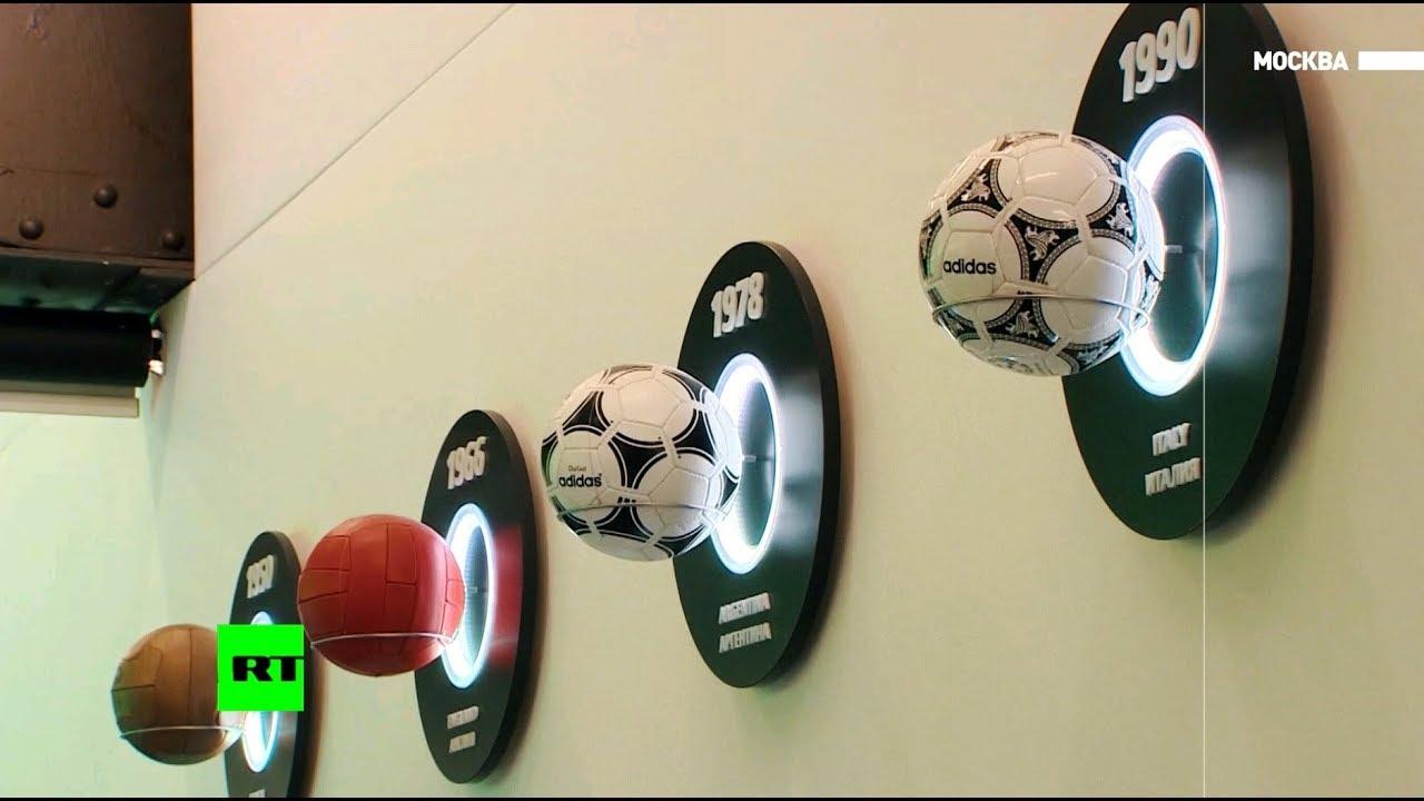 Главные символы мундиаля: корреспондент RT побывал на выставке Музея мирового футбола