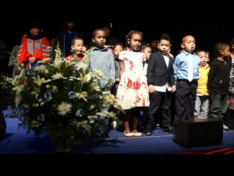 """Howard University Early Learning Program Students Sing """"Lift Every Voice."""""""