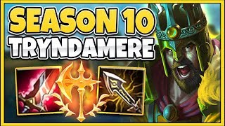 NEW ITEMS MAKE TRYNDAMERE 100% BROKEN IN SEASON 10! RIOT WTF IS THIS?!? - League of Legends