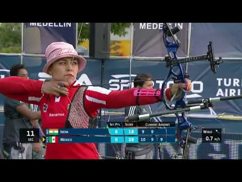 LIVE recurve individual finals -- Medellin 2014 Archery World Cup stage 2
