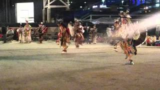 Indian Summer Powwow 2015 - Teen Boys Traditional