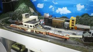 鉄道模型旧レイアウト(その3)通過待避