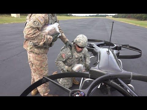 Army Testing Experimental Uav Resupply Drone Hover Bike