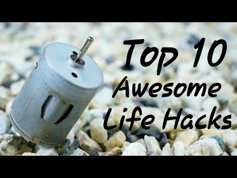 10-awesome-life-hacks-for-dc-motor-||-dc-motor-life-hacks