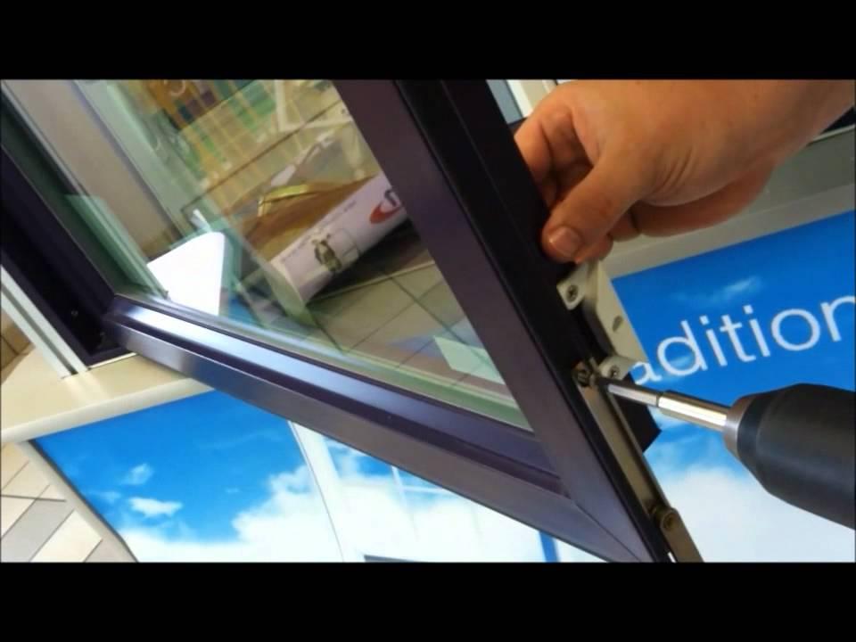 Paradigm Windows Sash Limiter Installation On Casement