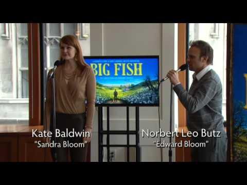 Norbert Leo Butz And Kate Baldwin Sing BIG FISH