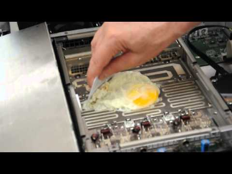 Cooking an egg with RF, uncut version