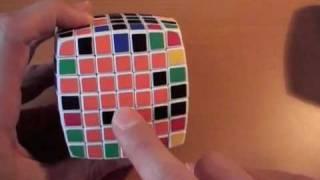 Как собрать кубик 7х7. ч.2/4. Два последних центра